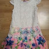 Платье нарядное 8 лет.