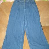 Суперские широкие джинсы кюлоты Topshop Moto 32/30