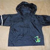 Курточка дождевик 92 см с отражателями