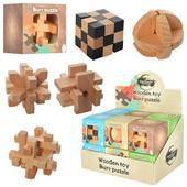 Деревянная 3D-головоломка Burr Puzzle 1 на выбор.гениальные головоломки и тизеры мозга .