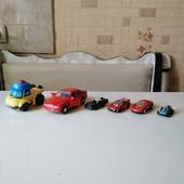 Машинки железные и пластмассовые. Лот - всё, что на фото.