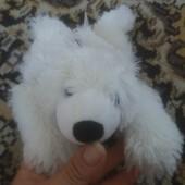 Фирменная игрушка-сухая грелка для малышей Белый Медведь .