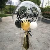 Воздушный силиконовый шар Bubbles, 35х35 см, в лоте 1 шт, подробно в описании!