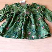 Блузочка на юну принцесу розм.80, десь на 9/12 міс, бренд next