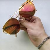 Стильные солнцезащитные очки + подарок! UV 400. Дорогая, эксклюзивная модель! ❧❧❧