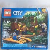 Конструктор lego City jungle explorers Набор «Джунгли» 88 детали!!! Оригинал!!!!!!