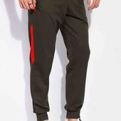 спортивные брюки с вставкой