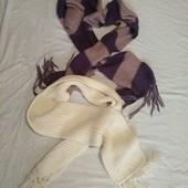 Классные шарфы на зиму✓2шт.в лоте✓В отличном состоянии✓См.лоты✓