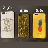 Чехол для айфона 7+, 8+, 6, 6s на выбор