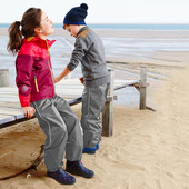 ☘ Брюки для дождя Tchibo(Германия) для активных детей! Не продувается, не промокает, размер: 146-152