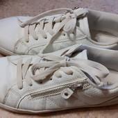женские белые кеды, кроссовки, 38 размера