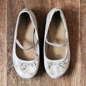 Тканевые балетки old navy для малышки, по стельке 18 см.