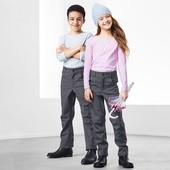 ☘ Теплые брюки в джинсовом стиле Tchibo(Германия)! Не продувается, не промокает, размер: 134/140