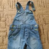 Комбінезон літній джинсовий