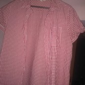 Одним лотом: 2 рубашки, 1 поддева на байке, 1 джемпер трикотажный, М-Л