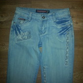 Голубые штаны, 28 р.ПОБ 48-50 см