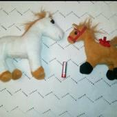 Мягкие музыкальные игрушки,лошадки