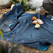 ☘ Плед для пикника с защитой от промокания, Tchibo(Германия), 120*140 см