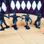 Набор фигурок солдатиков времён СССР