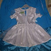 Нарядное Платье на малышку,примерно р. 74-92. смотрите замеры