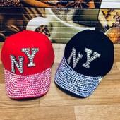 Крутейшие кепки взрослым и подросткам. размер 54см