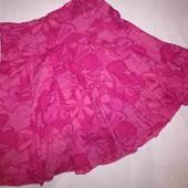 Пышная юбка от Marks&Spencer,100% хлопок. 14р. Пот 44см. Сост.отл.