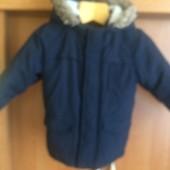Куртка, деми, внутри флис, р 4 года 104 см, Urban rascals. состояние отличное