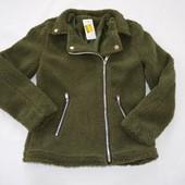 Куртка косуха тедді 158\164(це на бірці, але вона маломірить), див.заміри