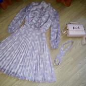 Шикарное летнее платье видеальном состоянии 46-48р