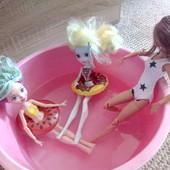 круг для плавания кукол