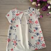 Фактурное платье для девочки 1-1,5года. George. Очень хорошее состояние.
