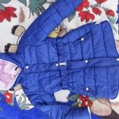 Курточка холодная осень на 5-6 лет