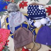Очень крутые шапочки на девочку 4-6 лет