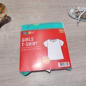 Германия!!! Лот из яркой, крутой футболки для девочки! 110/116!