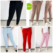 Модные женские брюки с завышенной талией, 42, 44, 46, 48 рр. Можно купить 50, 52 р +10 грн.!