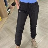 спортивные теплые штаны adidas размер S