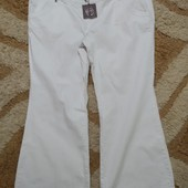 Белые джинсы Savoir на пышные формы, размер 24L (для высокой). Люксовый сток!