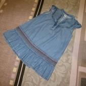 Качество!!! Два натуральных платья от Zara и Mini Club, 3-4+- года, в отличном состоянии