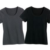 комплект: 2ед, женские базовые футболки от Blue Motion. Германия. Био хлопок