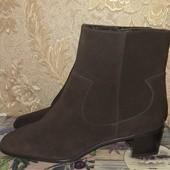 Шикарные ботинки натуральная кожа р 41.5