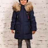 Стильные современные куртки-пальто, 3 модельки, 3 цвета! 122, 128, 134, 140, 146-152 рр