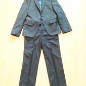 Школьный костюм отличное состояние 128-134