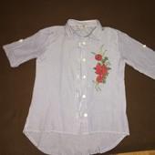 Сорочка для дівчинки 9-10 років.