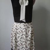 Комплект шифонова блуза та юбка!
