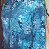 Очень красивая рубашка, хороший размер, б.у, отличное состояние!54-56р