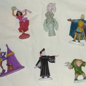 "Резиновые фигурки Disney ""Горбун из Нотр-Дама"""
