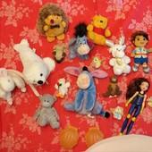 Лот игрушек для девчонок