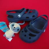 Балетки Crocs оригинал Navy Blue 20 размер
