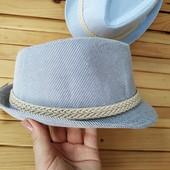 *16* Классная котоновая шляпа, подростковая.