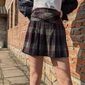 Стильная юбочка в школу рост 134-146 состояние отличное!